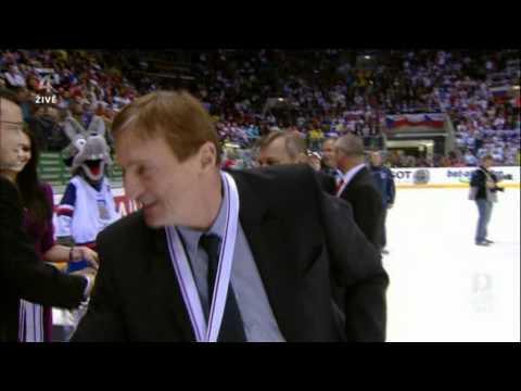 IIHF World Championship 2011 Czech Russia 7:4 end of Match