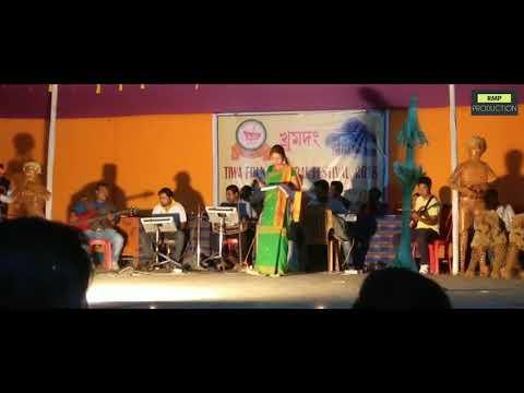 Tiwa folk cultural festival 2018 - Manju Moni Konwar