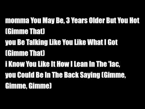 Chris Brown ft Lil Wayne- Gimme that lyrics