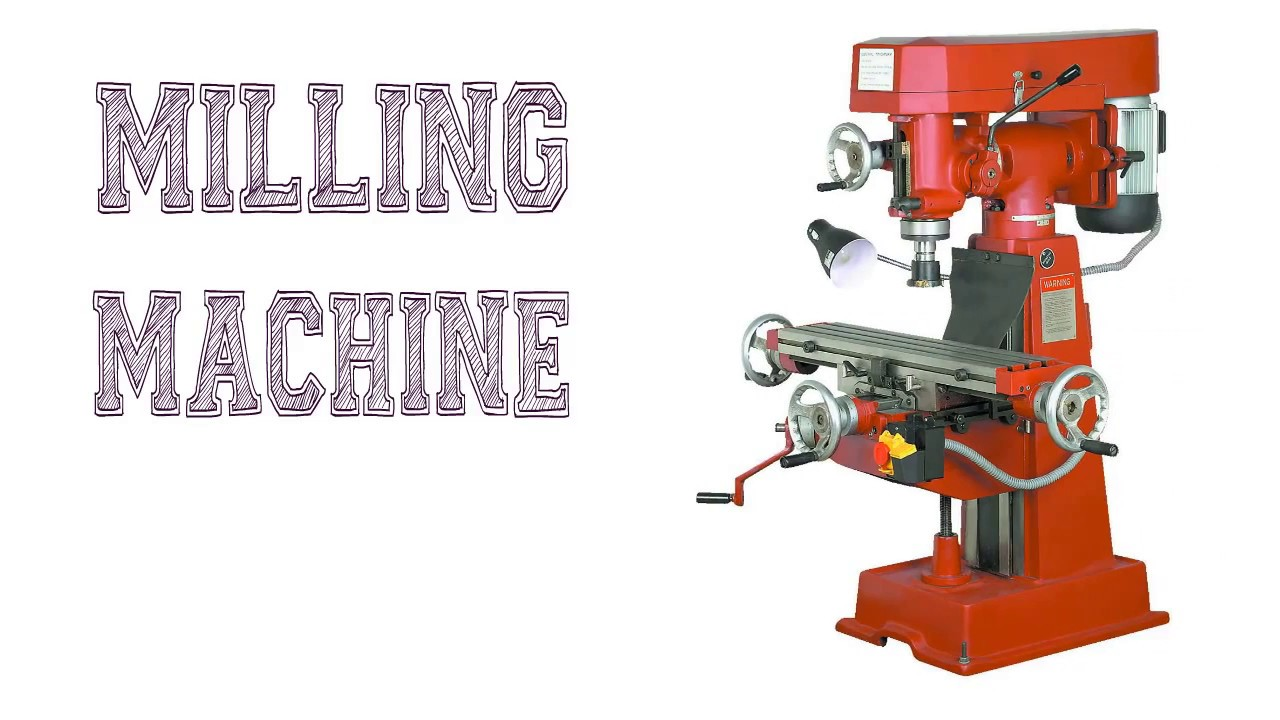 types of milling operations pdf