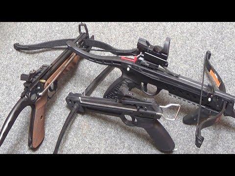 Types of Pistol Crossbows