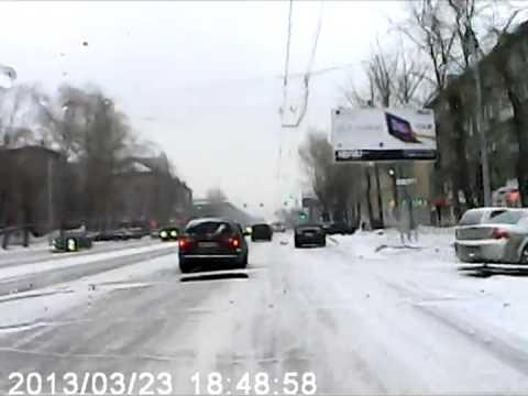 ДТП 23.03.13 Новосибирск, пр Дзержинского