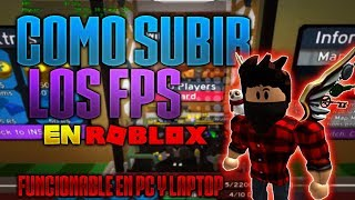 How to Climb To Maximo The Fps In Roblox!! (Tutorial)