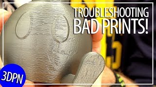 3D Printing 101: Troubleshooting a Bad Print and Installing a New Nozzle