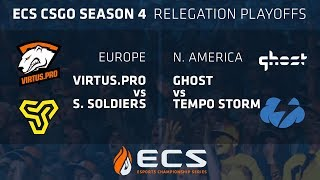 ECS S4 Promotional Matches Day 2: Virtus.pro vs Space Soldiers // Tempo Storm vs Ghost thumbnail