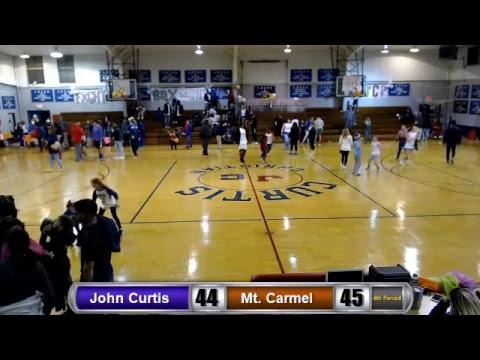 John Curtis Christian Lady Patriots vs. Mount Carmel Academy Cubs