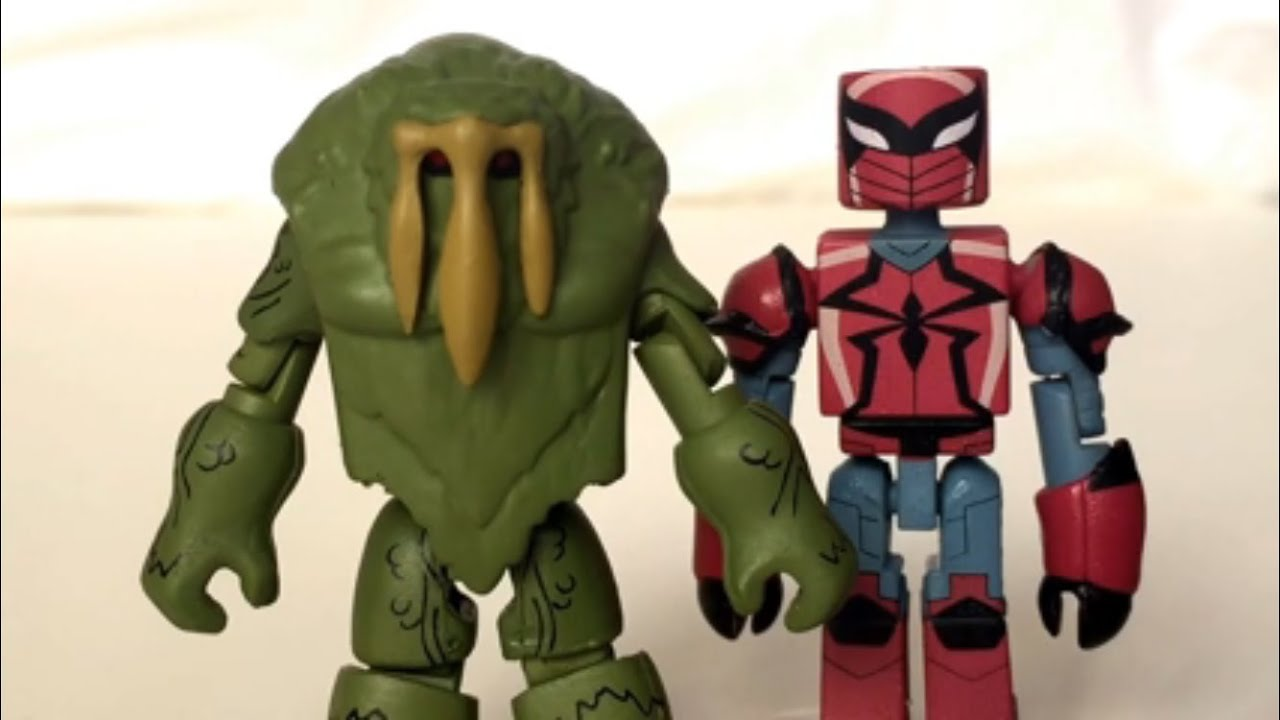 Marvel Minimates WALGREENS Wave 2.5 Web Warriors Spyder-Knight