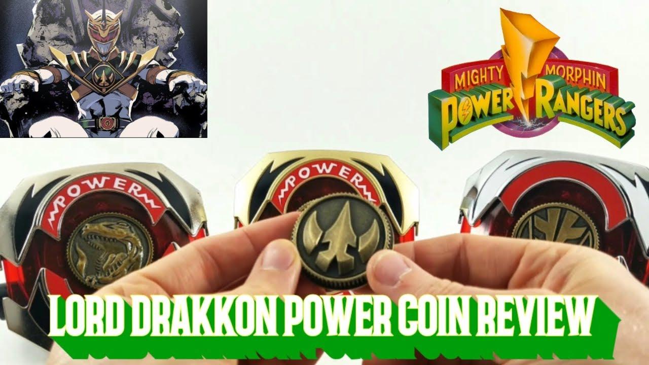 Power Rangers Lord Drakkon Power Coin Legacy Morpher
