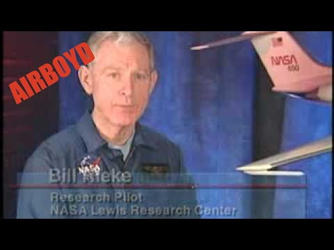 NASA Tailplane Icing Video Glenn Research Center