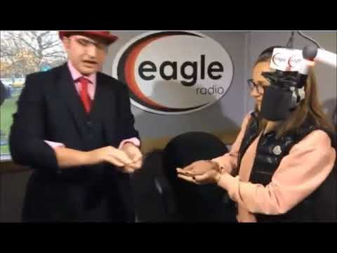 Red Hat Magic on Eagle Radio and the Peter Gordon Breakfast Show