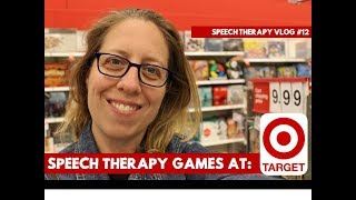 Speech Therapy Games At Target   #speechtherapy Vlog #12