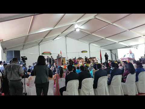 President of India speaks in Creole in Mauritius