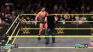 WWE2K16 My Career Mode pt33 - GOTCH-a! POWER OUTAGE, WTF?!