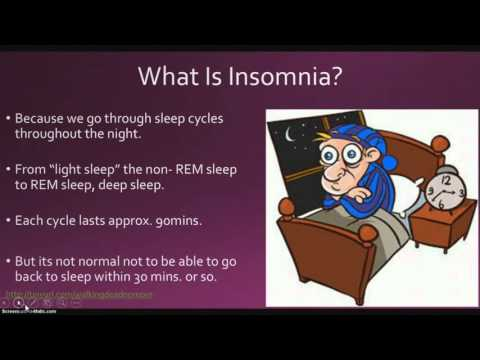 How to solve insomnia problem