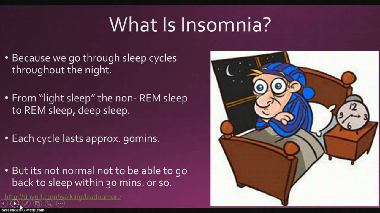 How To Cure Sleep Insomnia Naturally