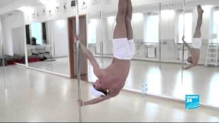 In Russia, pole dance attracts the interests of men