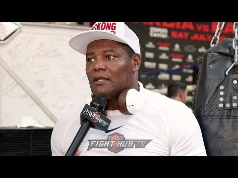 "LUIS ORTIZ ""JOSHUA IS THE ONE WHO IS RUNNING FROM FIGHTERS! AT LEAST WILDER STEPPED UP!"""