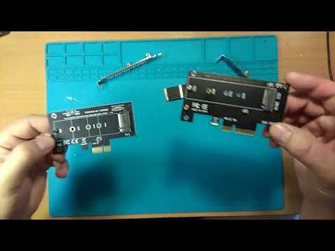 Скорости диска M.2 MVMe 128Gb через переходники PCI-e X1 и PCI-e  X4 на Jingsha X79 Dual