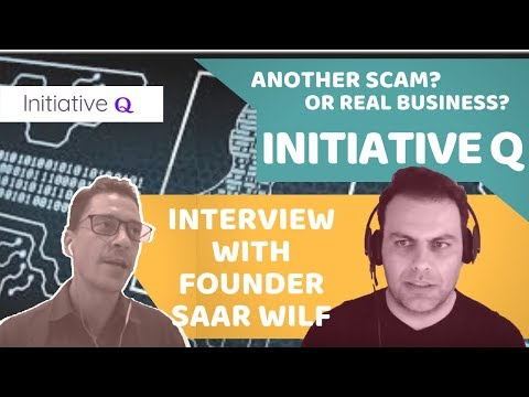 Initiative Q - Everything You Need To Know! With Founder Saar Wilf and OJ Jordan
