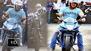 Must Watch : Salman Khan's Sports Bike STUNT Going Viral on the Internet