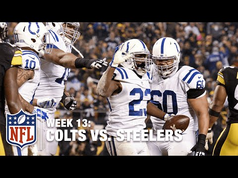 Matt Hasselbeck Finds Frank Gore for the Red Zone TD! | Colts vs. Steelers | NFL