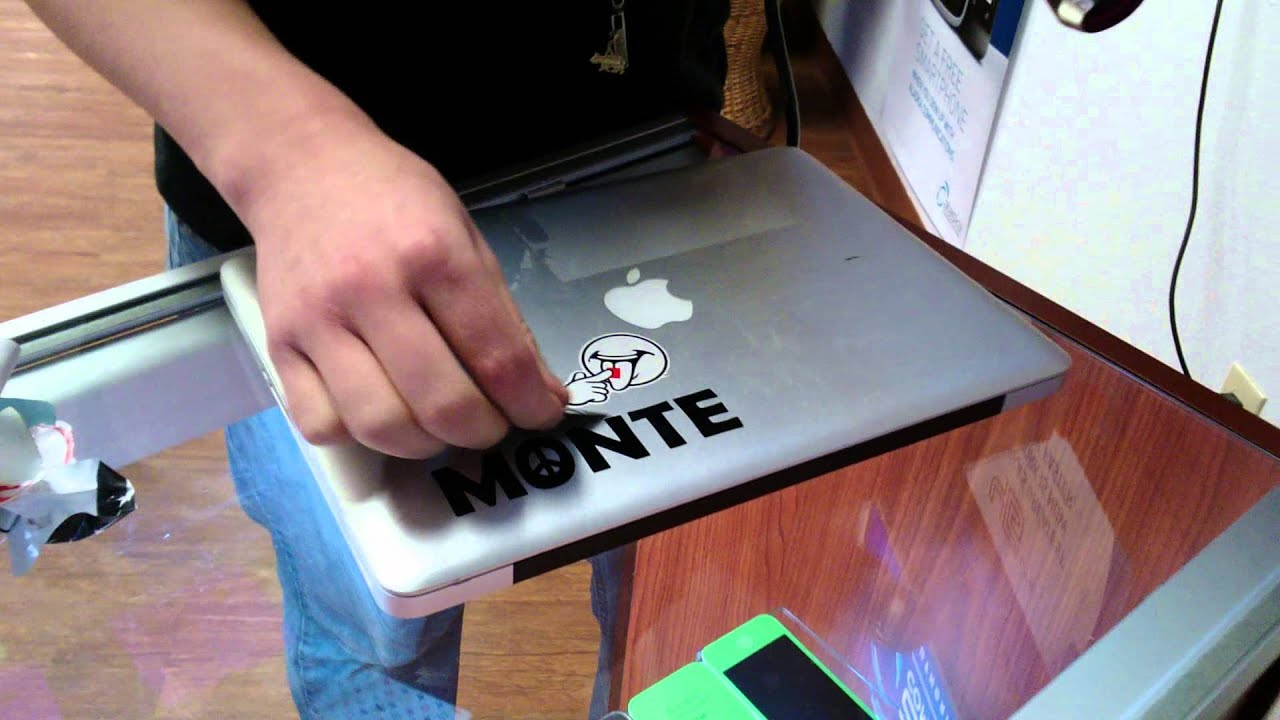 How to remove the sticker 10