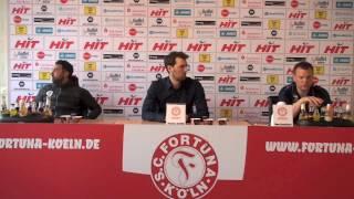 FortunaTV - Die Pressekonferenz nach dem Heimsieg gegen Lotte