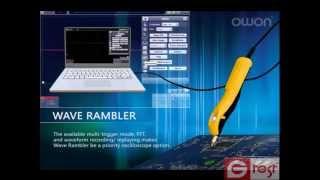 видео Цифровой осциллограф OWON SDS6062. Подготовка к работе.