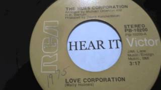 HUES CORPORATION LOVE CORPORATION