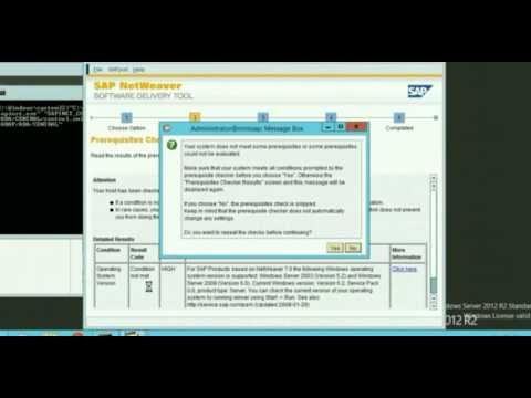 Step by Step  How to install SAP NetWeaver Application Server ABAP (Mini SAP)