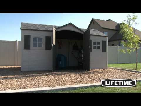 Lifetime 15x8 Ft Shed You