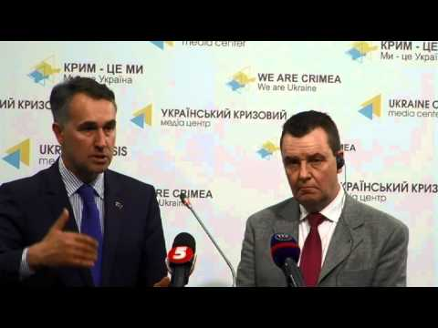 Results of the Members' of the European Parliament visit to Ukraine. UCMC, 16th of May 2015