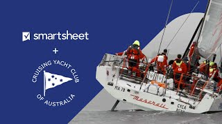 Yacht Club Relies on Smartsheet to Manage High Stakes Race