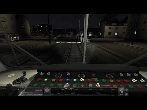 U=Bahn Frankfurt (mit kurzer Tonstörung)