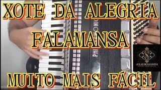 Baixar Aula de Sanfona - XOTE DA ALEGRIA - FALAMANSA - MUITO MAIS FÁCIL - FORRÓ