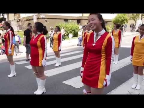 Lincoln HS Girls Drill Team @ Cherry Blossom 2014