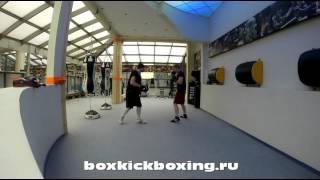тренировка № 8  отработка прямых ударов  работа на лапах  школа бокса от А до Я(, 2016-04-09T16:12:50.000Z)