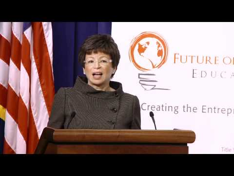 Valerie Jarrett, Senior Advisor to President of the United States, Speaks at Empact100