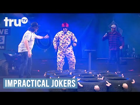 Impractical Jokers Live - Joey Fatone's Obstacle Course Highlights
