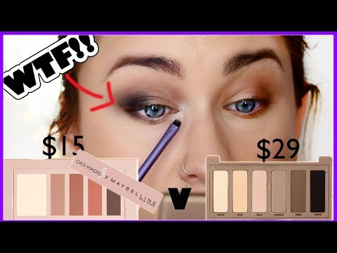 GIGI HADID X MAYBELLINE PALETTE v. URBAN DECAY NAKED BASICS! | ughhh | Beauty Banter