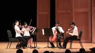 Haydn Quartet Op. 76, No. 5 in D, Mvt 3, Menuetto: Allegro, Trio; Mvt 4, Finale: Presto.