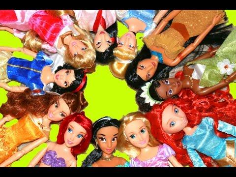 Disney Princess Doll Collection ARIEL Rapunzel Tangled Cinderella