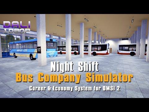OMSI 2 | Bus Company Simulator | Night Shift