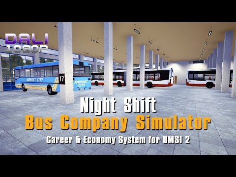 OMSI 2 | Bus Company Simulator | Night Shift