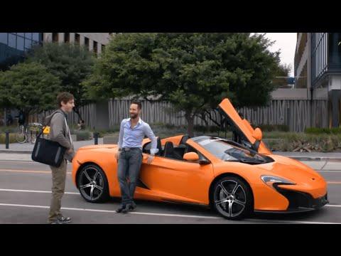 Russ Hanneman McLaren - Billionaire Doors - Car Scenes - Silicon Valley