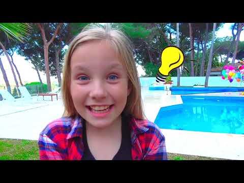 Дети невидимки играют прятки с папой / Сказки для Евы