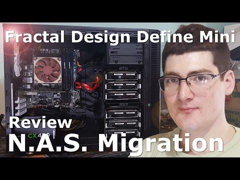 Fractal Design Define Mini Review - New home for NAS!