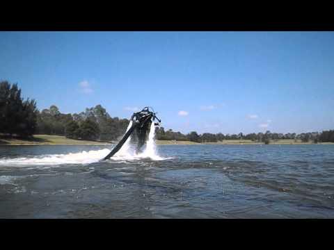 Jetpack  Elena Gould- New Jetpack Pilot -- Jetpack Adventures Sydney