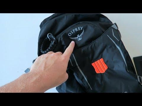 Treyarch sent me a Blackout survival bag..