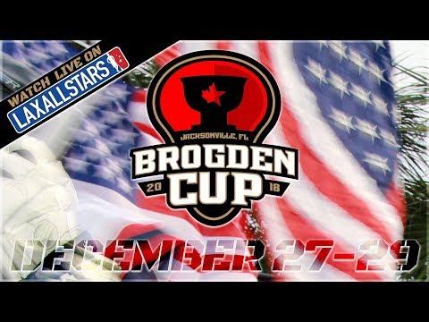 National Lacrosse Classic Brogden Cup: U19 Boys, Ontario v USA